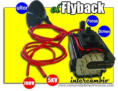 Adaptación del Flyback en televisores a color